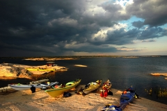 Kayaking in Georgian Bay - Minks and McKoy Islands, Ontario Canada